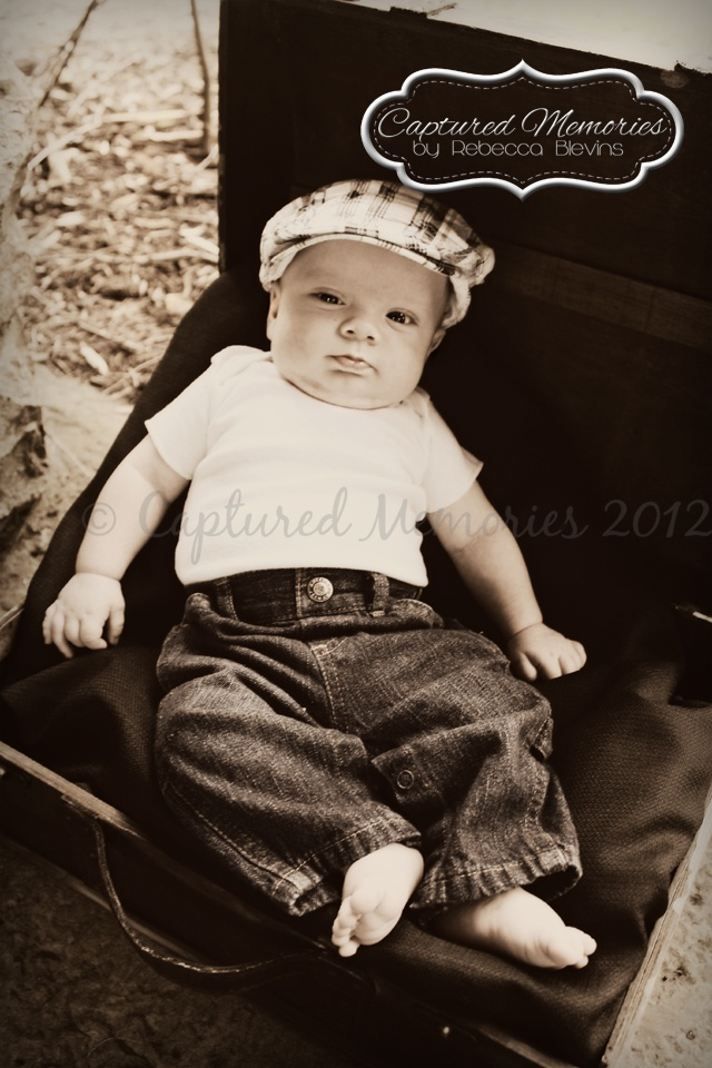 Landon - 3 Month Old Baby  #photography