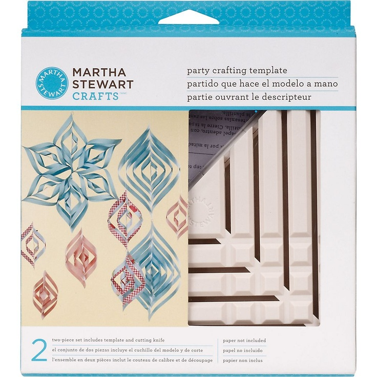 Spiral Ornament Template Tool - Paper Source