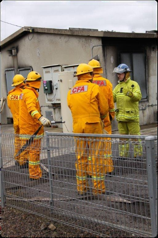 Dundas Group brigades take part in structure drills