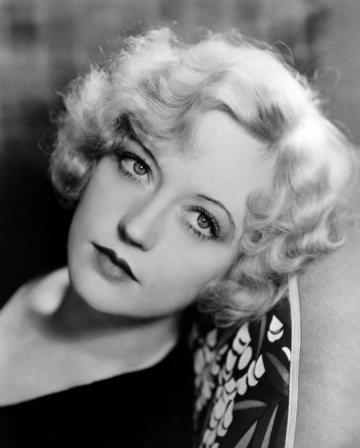 Marion Davies curls and makeup. Early 1930s