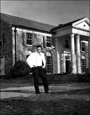 In March of 1957, Elvis bought Graceland Mansion for himself, his parents, and his paternal grandmother to live in for $102,500. It will be ready for them to move into on May 16th, 1957. Elvis doesn't spend his first night in Graceland until June 26th, 1957.