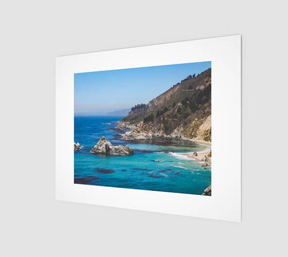Tropical California Ocean Nature Fine Art Print