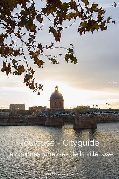 Les bonnes adresses de la ville rose © Escapades etc #toulouse #visiteztoulouse