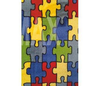 Υφαντή μοκέτα (χαλί) Antique Puzzle