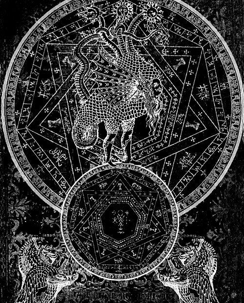 alchemical chimera, septagram seal | spirit | Pinterest ...