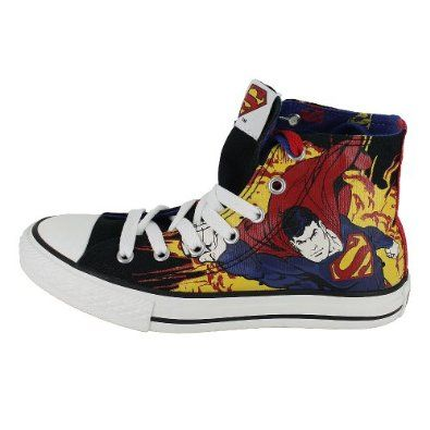 Superman Shoes....How Cool!!!!