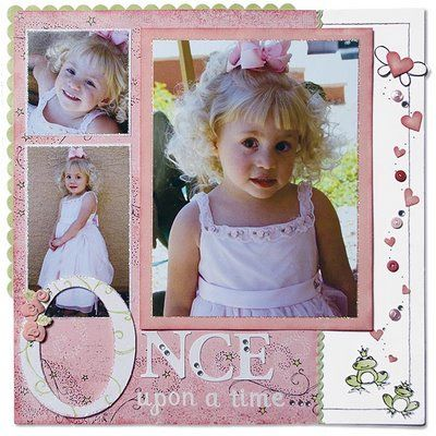 Once Upon A Time - 3 pictures - CTMH Layouts