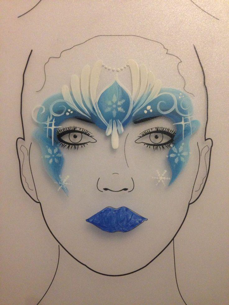 Design board Frozen crown