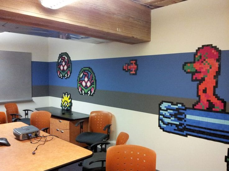 Brinstar (Metroid) Conference Room At IGN Offices