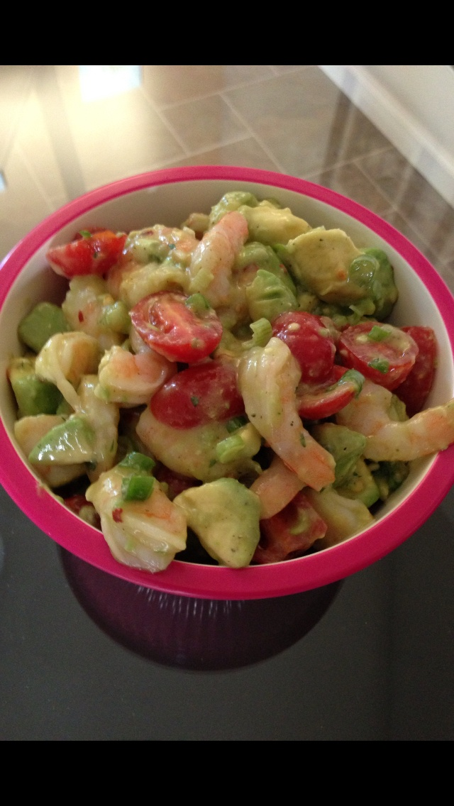 Shrimp avocado, Cherries and Squeezed lemon on Pinterest