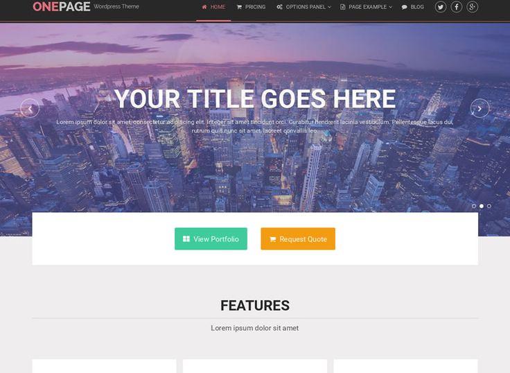 OnePage - szablon Wordpress dla firm - http://trejka.pl/onepage-szablon-wordpress-dla-firm/