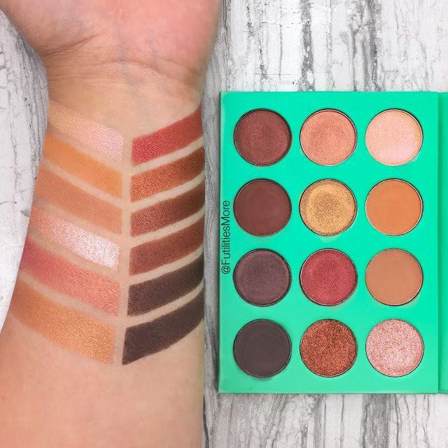 Juvia's place: The Nubian palette review and swatches