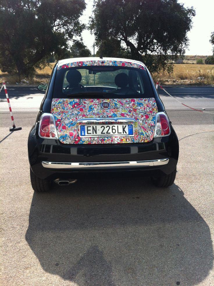 Car Wrap New Fiat 500 Www Daddario It Car Wrap