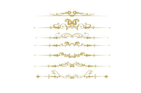 Gold Element Vector Set https://creativemarket.com/kio https://ru.fotolia.com/p/201081749 http://ru.depositphotos.com/portfolio-1265408.html