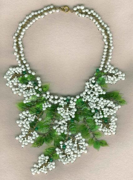 Miriam Haskell necklace 5