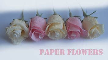 LIGHT paper roses home decorations by moniaflowers on Etsy