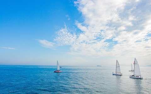 nyár tenger vitorlás vitorlázás