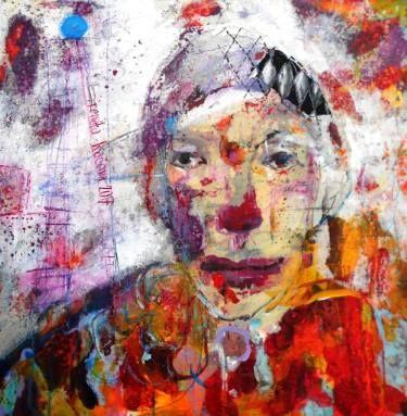 "Saatchi Art Artist RENATA KACOVA; Painting, ""PEPITO"" #art"