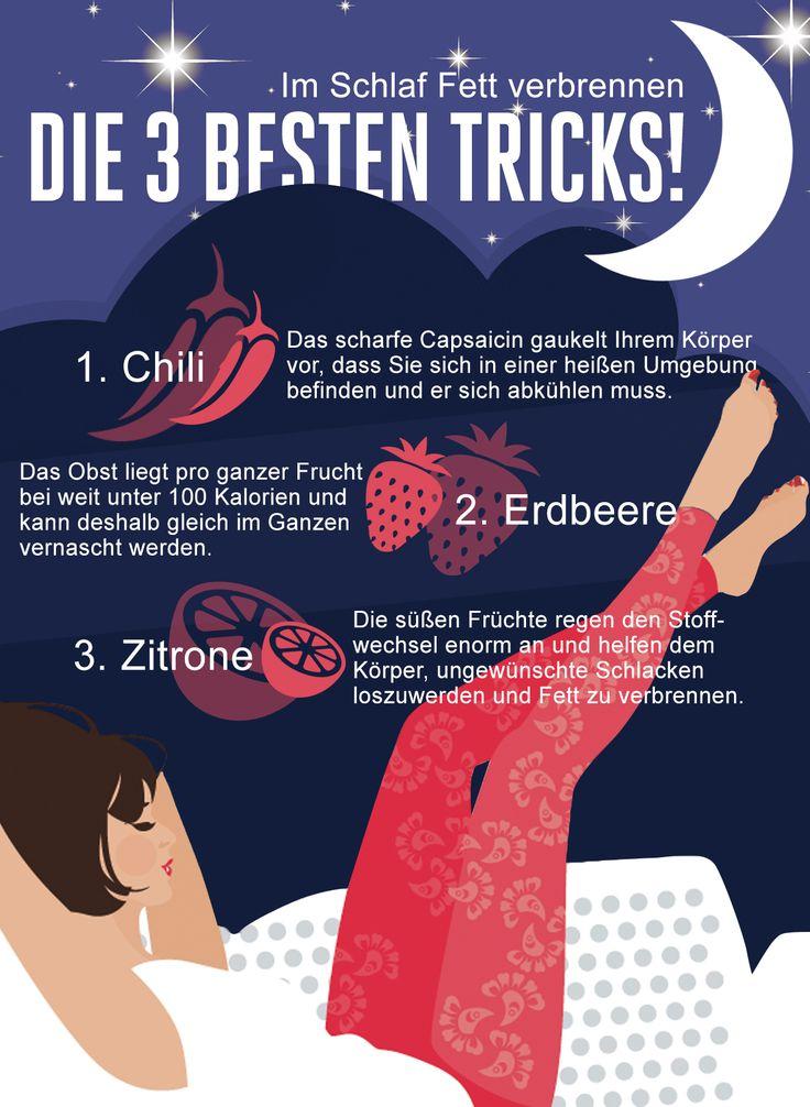 So verbrennen Sie im Schlaf Fett Stell dir mal Folgendes vor: Genussvoll schlemmen und trotzdem im Schlaf die Fettverbrennung anregen. Das ist möglich! Hier die Tipps!