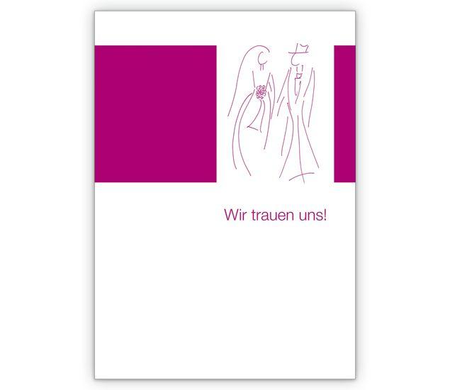 Elegante Hochzeits-anzeige für frisch Vermählte - http://www.1agrusskarten.de/shop/elegante-hochzeits-anzeige-fur-frisch-vermahlte/    00012_0_520, Anzeige, Braut, Bräutigam, Brautpaar, Grußkarte, heiraten, Helga Bühler, Hochzeit, Illustration, Klappkarte, Liebe, Standesamt, Trauung00012_0_520, Anzeige, Braut, Bräutigam, Brautpaar, Grußkarte, heiraten, Helga Bühler, Hochzeit, Illustration, Klappkarte, Liebe, Standesamt, Trauung