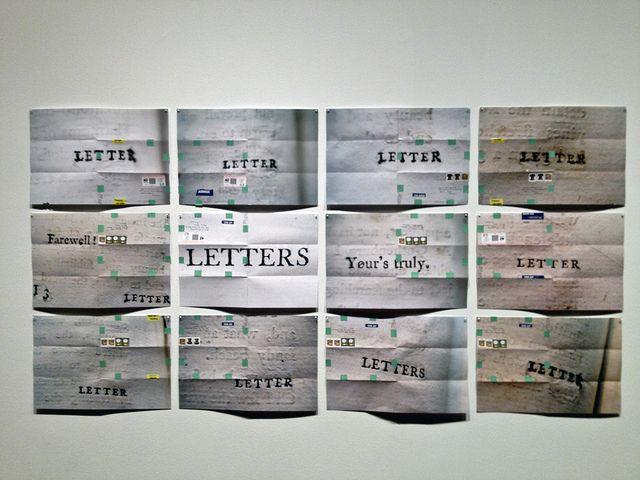 moyra davey art   Above: Mary, Marie , 2011