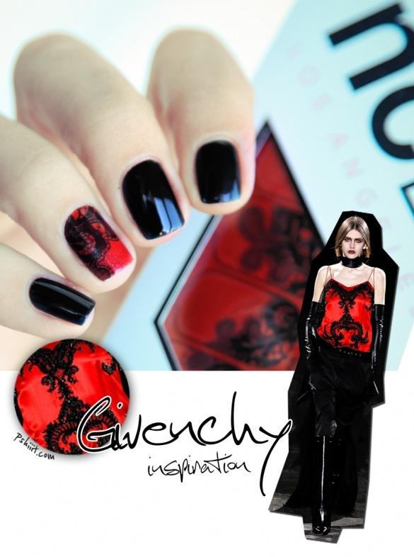 Givenchy Inspiration: Nails Art, Ncla Nails, Givenchy Inspiration, Lace Nails, Inspiré Par, Nail Art, Art Nails, Nails Wraps, Art Givenchy