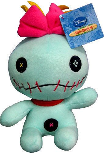 DISNEY LILO AND STITCH SCRUMP Soft Plush Stuffed Toy Kids Childrens Boys Girls   eBay