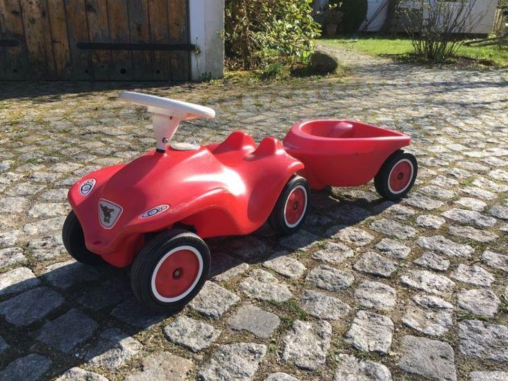 """Bespieltes aber gut erhaltenes Bobby Car mit Anhänger ind """"silent"""" Reifen zu verkaufen. Momentan...,Bobbycar mit Anhänger und leisen Reifen in Hamburg - Hamburg Poppenbüttel"""