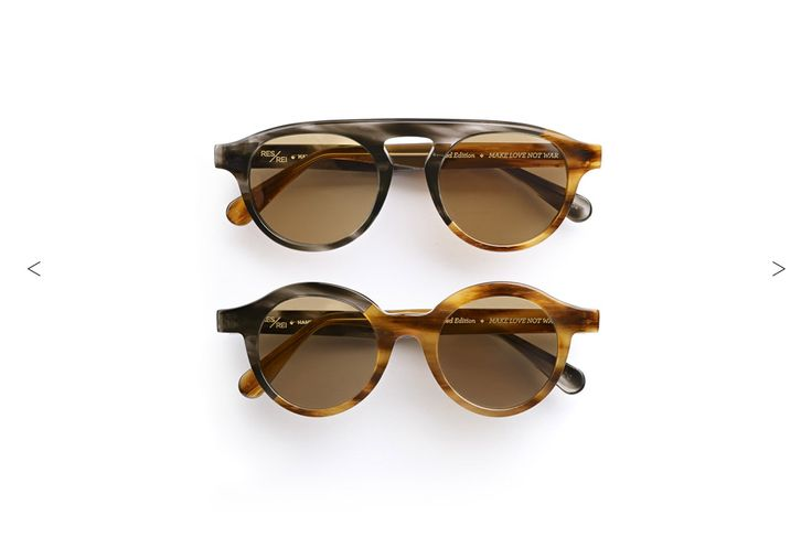 RES/REI Eyewear | Handmade in Italy with love