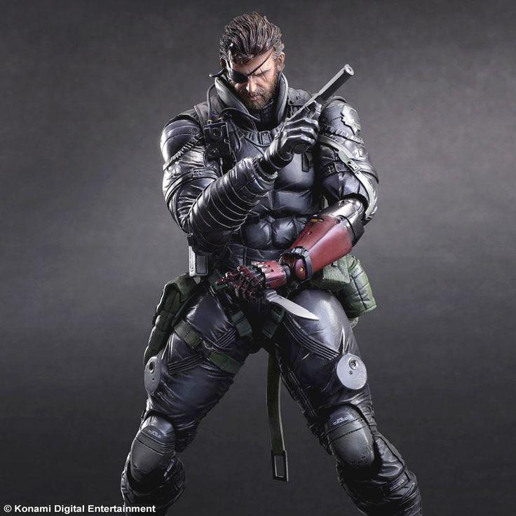 Metal Gear Solid V The Phantom Pain Play Arts Kai VENOM SNAKE Sneaking Suit Ver. Octubre de 2015