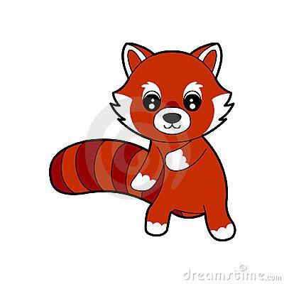 Cute Red Panda by Randomchuck, via Dreamstime