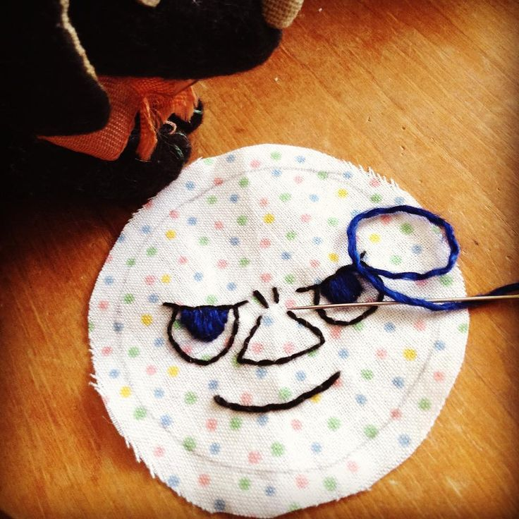 Can you guess who she is? #face #embroidery #craft #handmade #handicraft