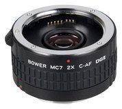 Bower - 2x Dgii Autofocus Teleconverter for Select Canon Dslr Cameras, SX7DGC