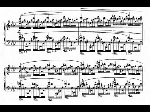 Godowsky's transcription of Chopin's etude in A flat major Op. 25 No. 1 played by Marc-Andre Hamelin (Second version – Sounds like 4 hands playing when only 2 hands are playing; Listening tip: use a set of good headphones)