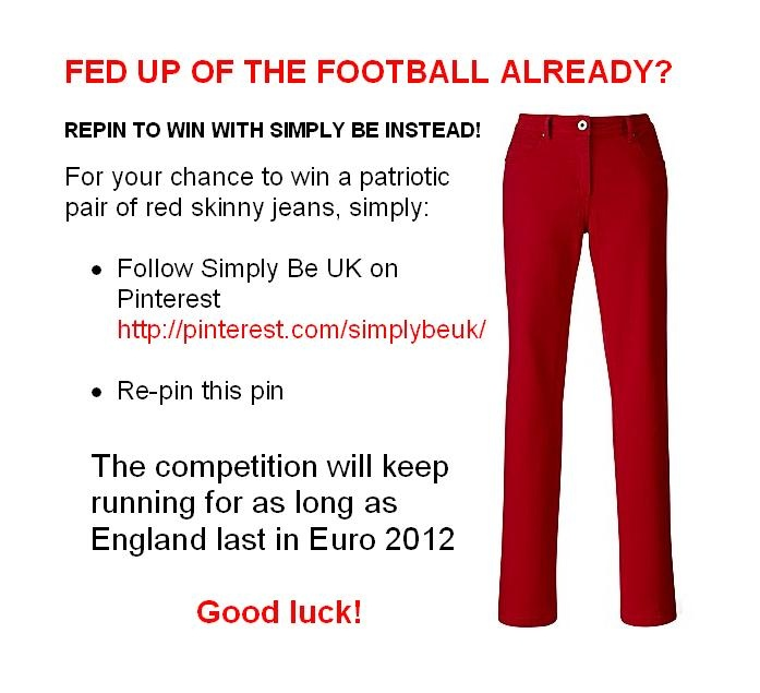 Repin to Win! #competition #SimplyBe