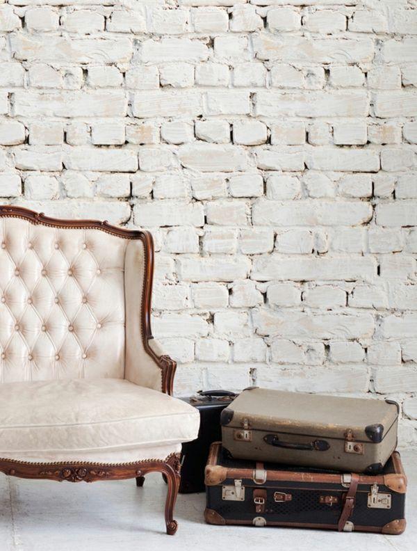 1000 ideas about papier peint brique on pinterest papier peint brique blanche painting. Black Bedroom Furniture Sets. Home Design Ideas