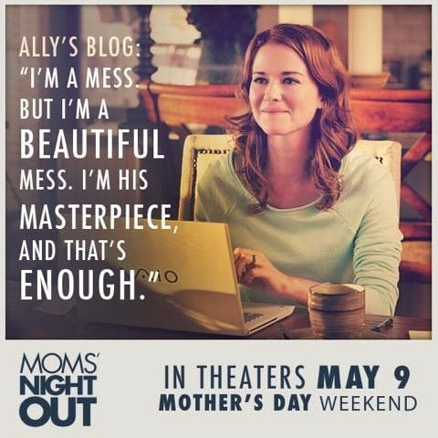 """Shawn and Emily Stoik: A Mom's Night Out to go see, """"Mom's Night Out""""! (Of course!) - My 'Mom's Night Out' Movie Review"""