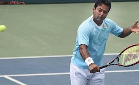Leander Paes crashes out of Indian Wells from opening round