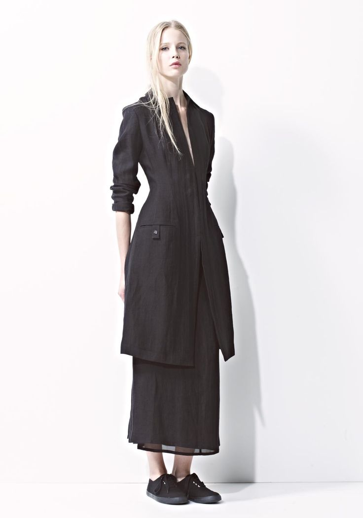 yohji yamamoto, s/s 2014-2015, noir paris collection.