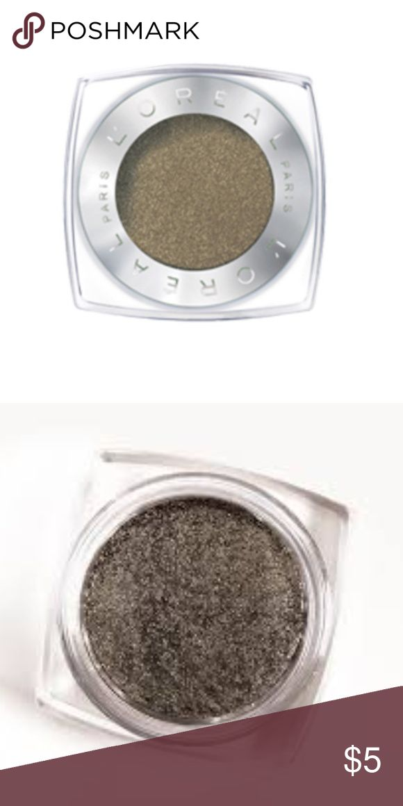 Brand New L'Oréal Paris Infallible 24HR Eyeshadow Brand New L'Oréal Paris Infallible 24HR Single Eyeshadow (currently retailing for $8) in the shade ' Gilded Envy' ... only ever swatched!  -Intense, maximized color -Luxurious powder-cream texture -24-hour long-lasting hold -Waterproof, crease resistant, fade resistant L'Oreal Makeup Eyeshadow