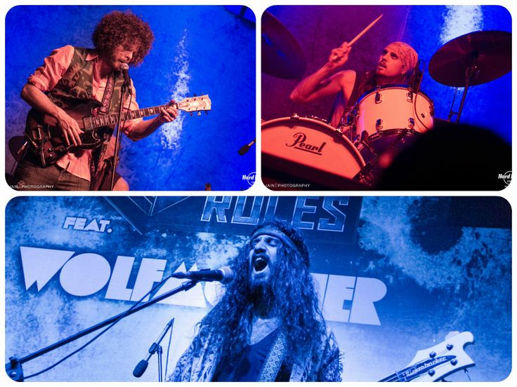 Wolfmother's LIVE performance at #HRC #Mumbai.