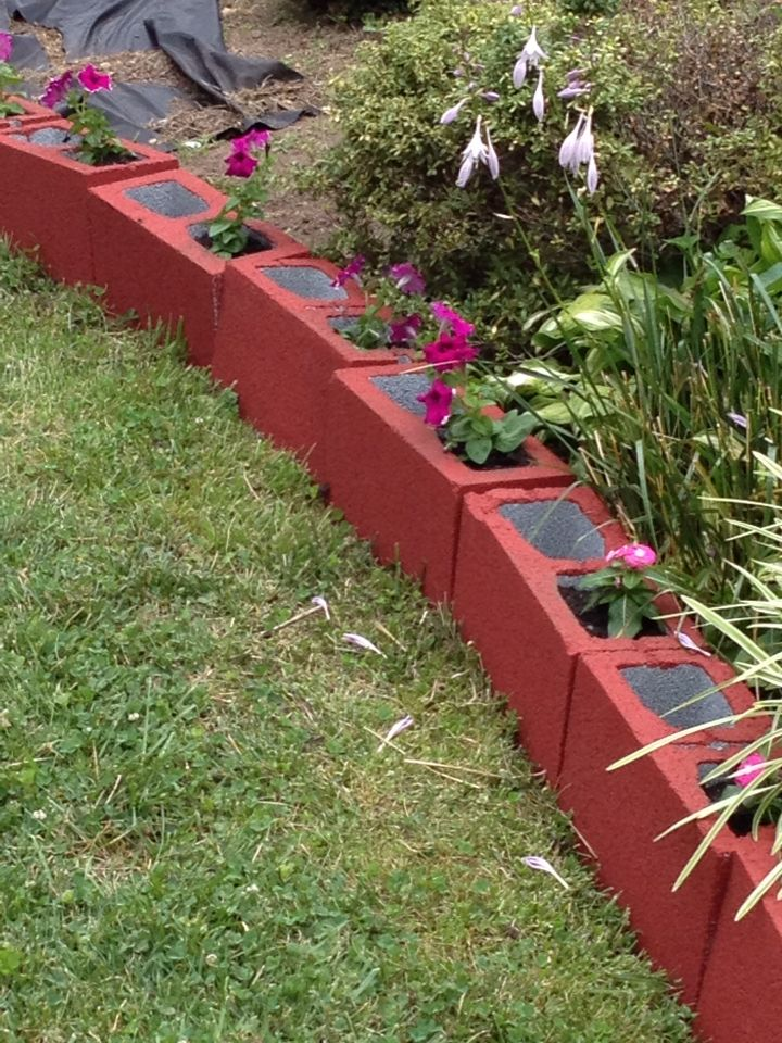Simple Flower Beds In Front Of House