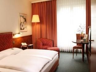Leipzig Lindner Hotel Leipzig Germany, Europe The 4-star Lindner Hotel Leipzig offers comfort and convenience whether you're on business or holiday in Leipzig. The hotel offers a wide range of amenities and perks to ensure you have a great time. Free Wi-Fi in all rooms, 24-hour front desk, luggage storage, car park, room service are there for guest's enjoyment. Guestrooms are designed to provide an optimal level of comfort with welcoming decor and some offering convenient amen...