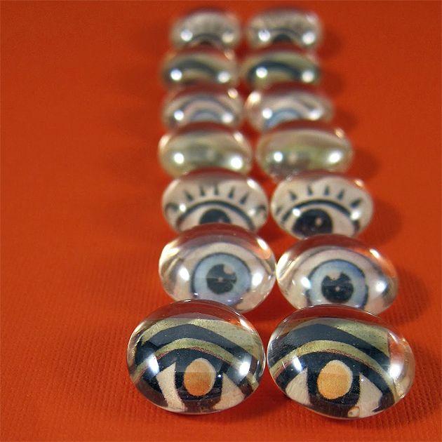 glass bead eyes