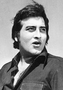 10 most handsome hunks-1)  Vinod Khanna
