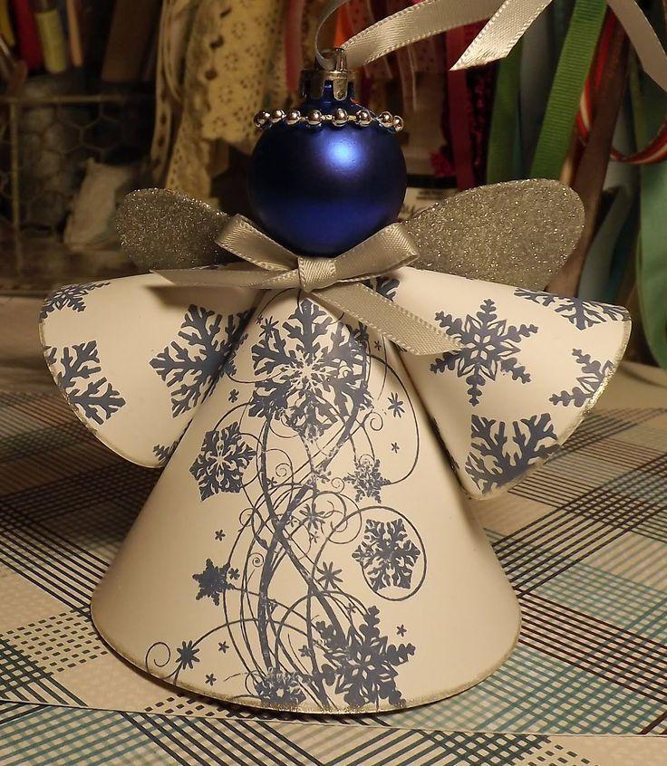 Homemade Angel Christmas Ornaments | Christmas Angel