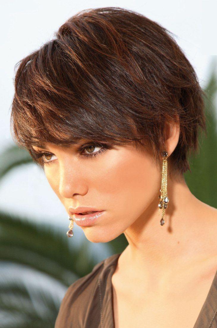 Brunette Short Haircut Best Short Hair Styles
