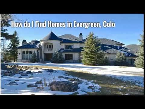 Excellent Homes for Sale in Evergreen, Colorado | ISO Denver Real Estate...