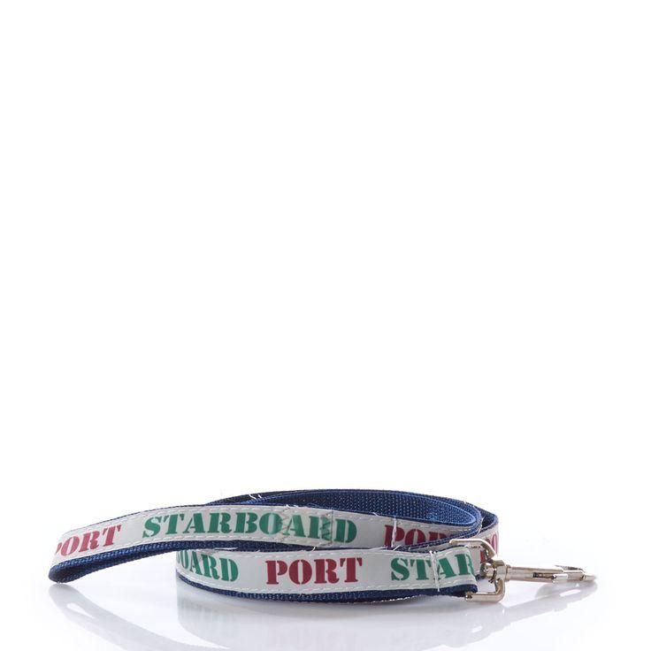 White Port & Starboard Dog Leash