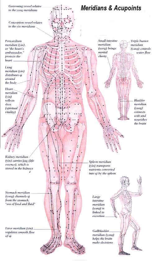 Acupuncture/Acupressure and Reflexology - how they connect